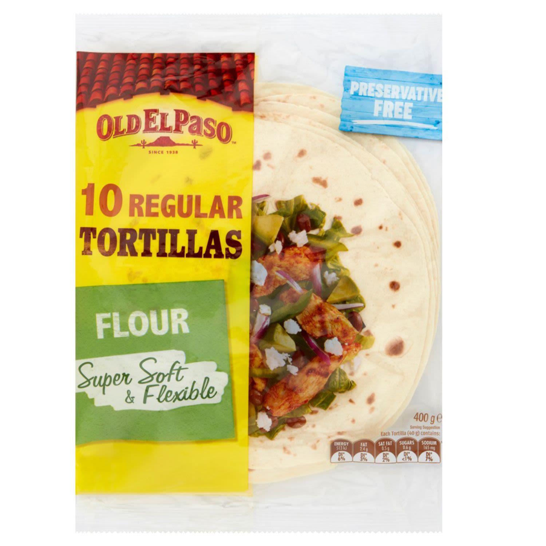 Old El Paso Tortillas, 10 Each