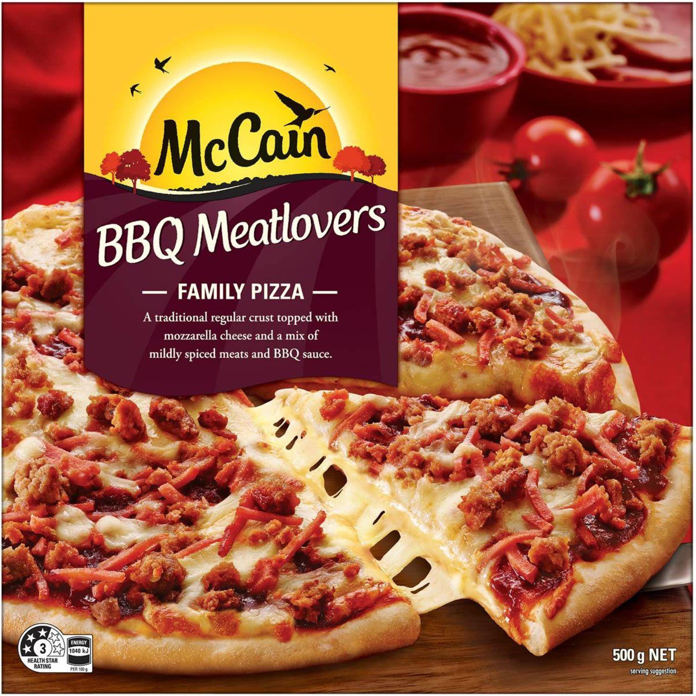 McCain Meatlovers Family Pizza, 500 Gram