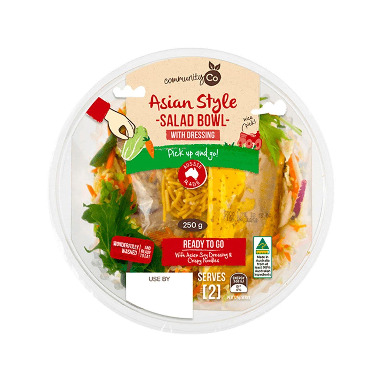 Community Co Asian Style Salad Bowl, 250 Gram