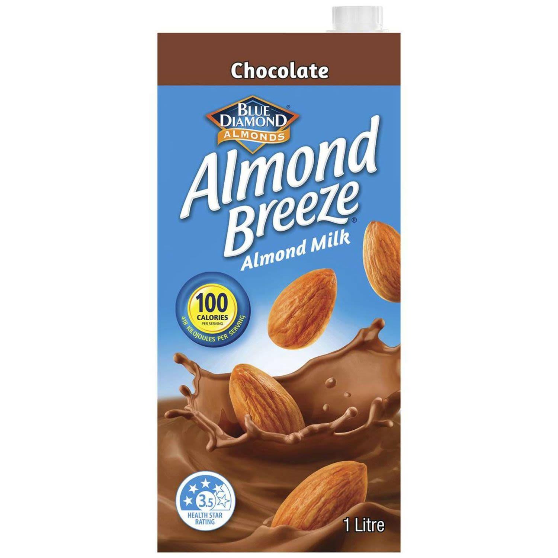 Almond Breeze Chocolate Flavoured Almond Milk, 1 Litre