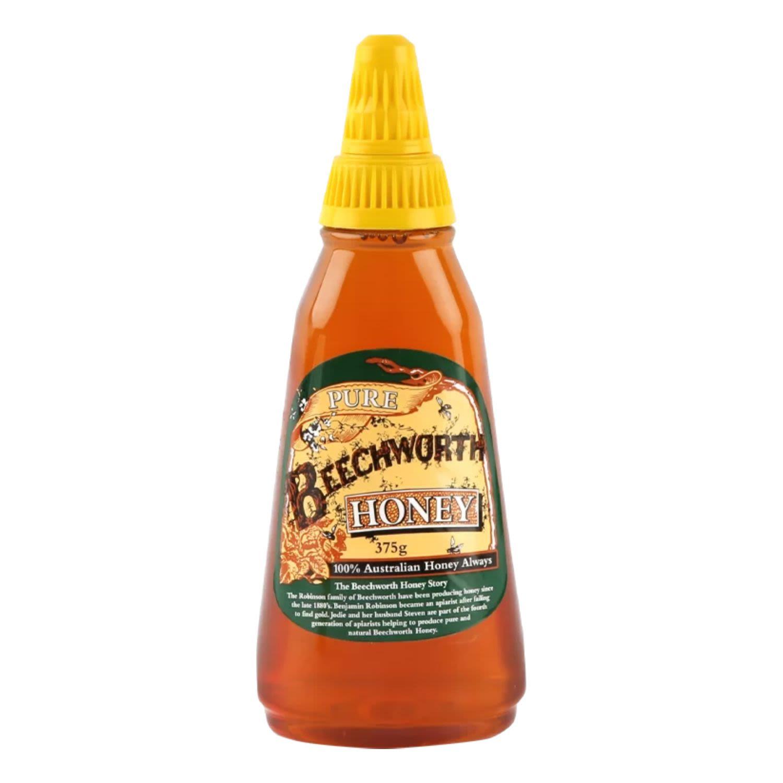 Beechworth Pure Honey Squeeze, 375 Gram