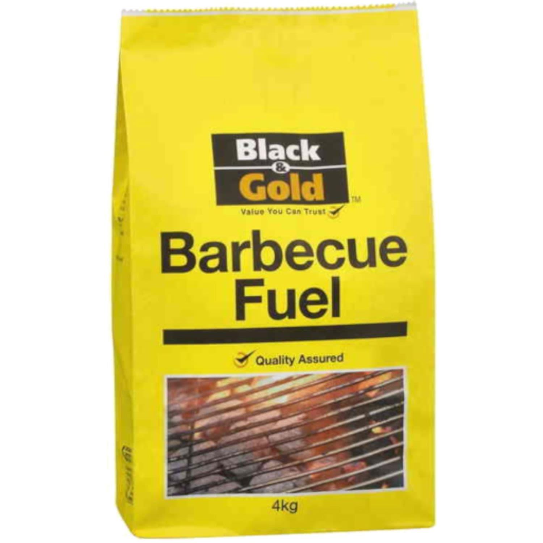 Black & Gold BBQ Fuel, 4 Kilogram