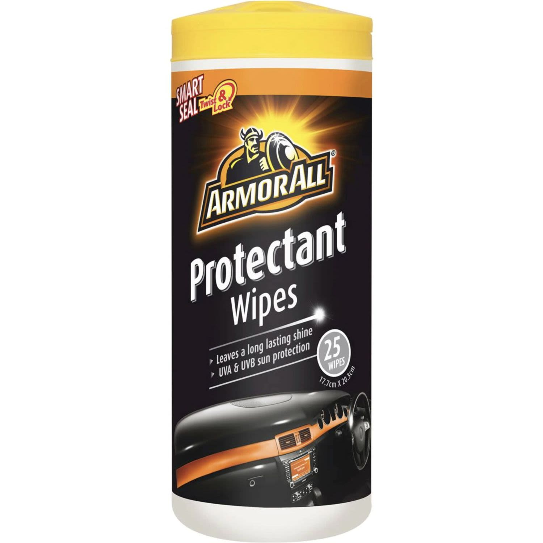 Armor All Car Care Protectant Wipes, 25 Each