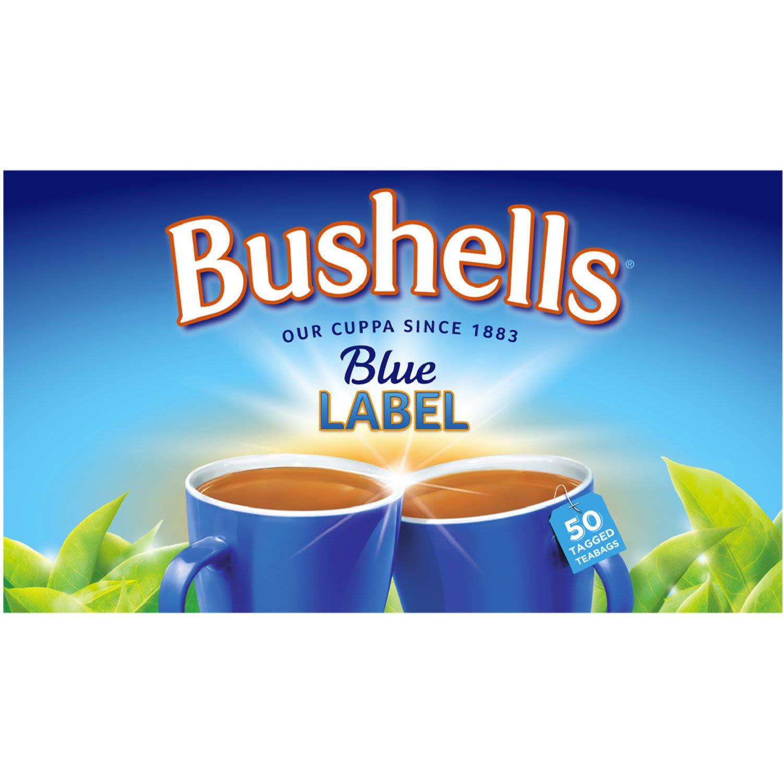 Bushells Tea Bags Black Tea, 50 Each