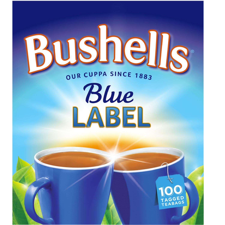 Bushells Blue Label Black Tea Bags, 100 Each