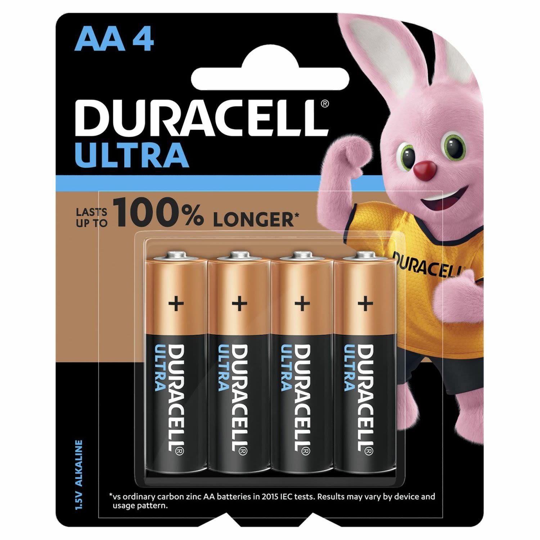 Duracell Battery Ultra AA, 4 Each