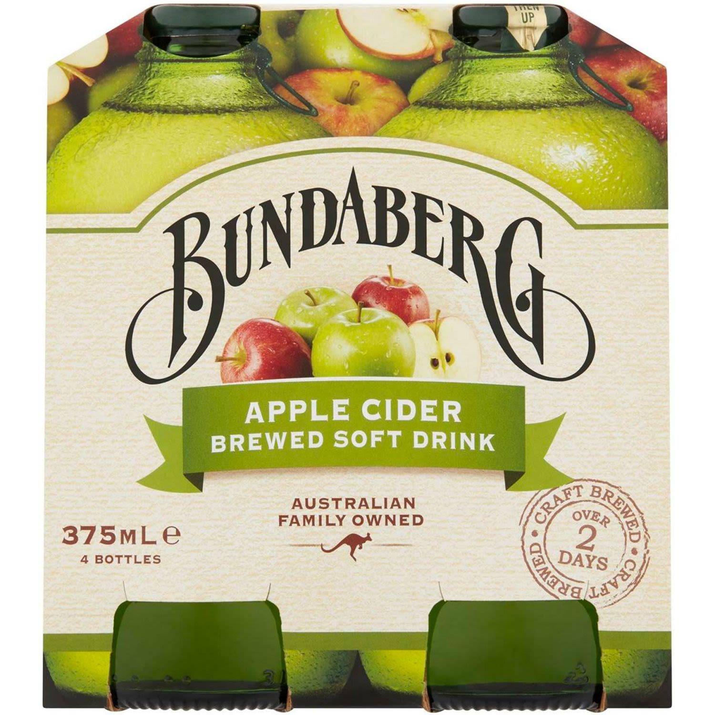 Bundaberg Apple Cider, 4 Each