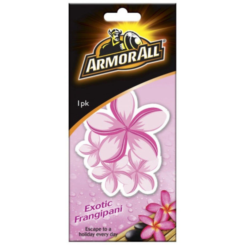 Armor All Air Freshener Card Frangipani, 1 Each