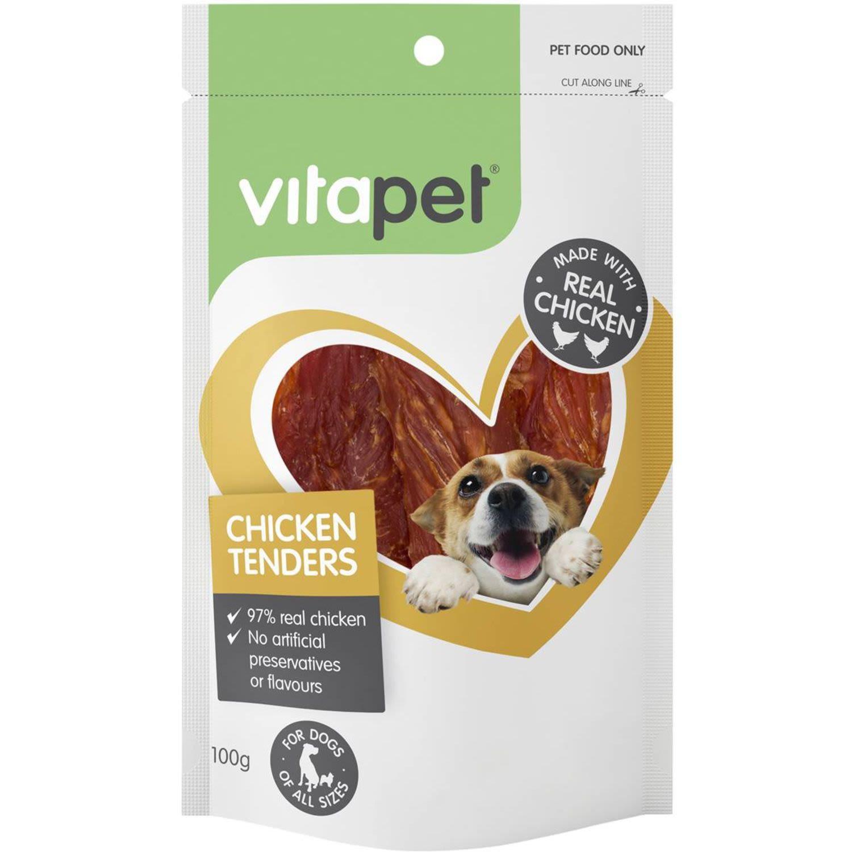 VitaPet Jerhigh Chicken Tenders For Dogs, 100 Gram