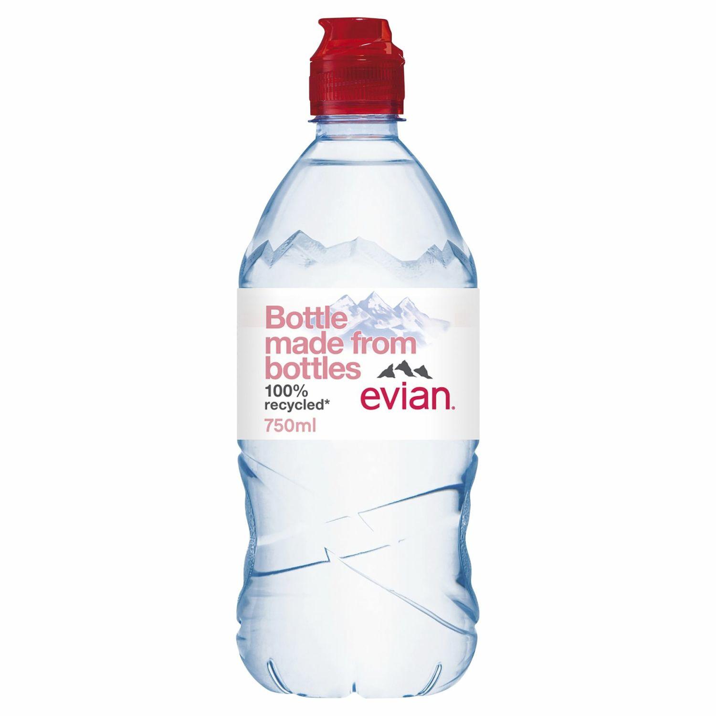 Evian Spring Still Water, 750 Millilitre