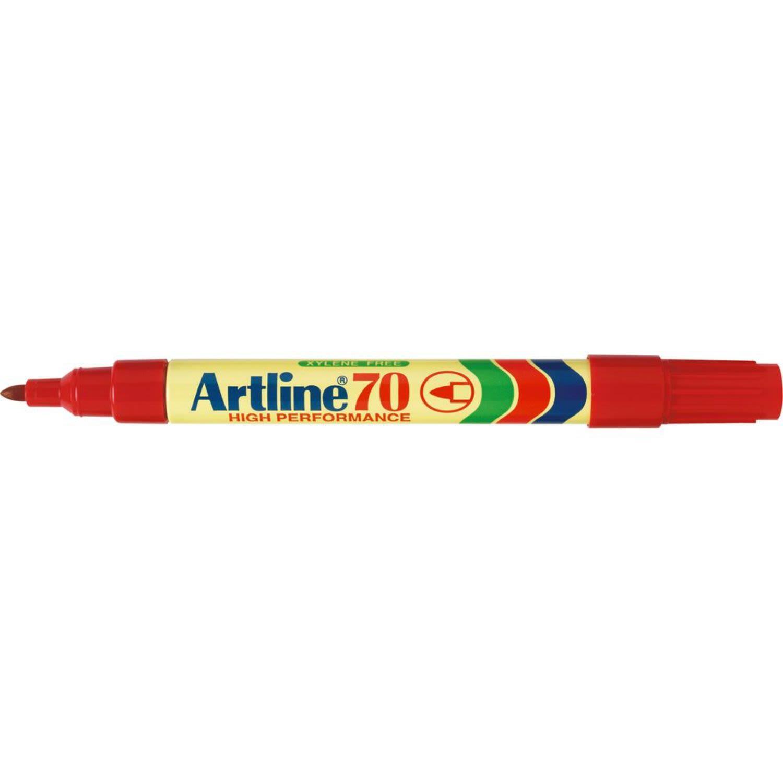Artline Marker 70 Red, 1 Each