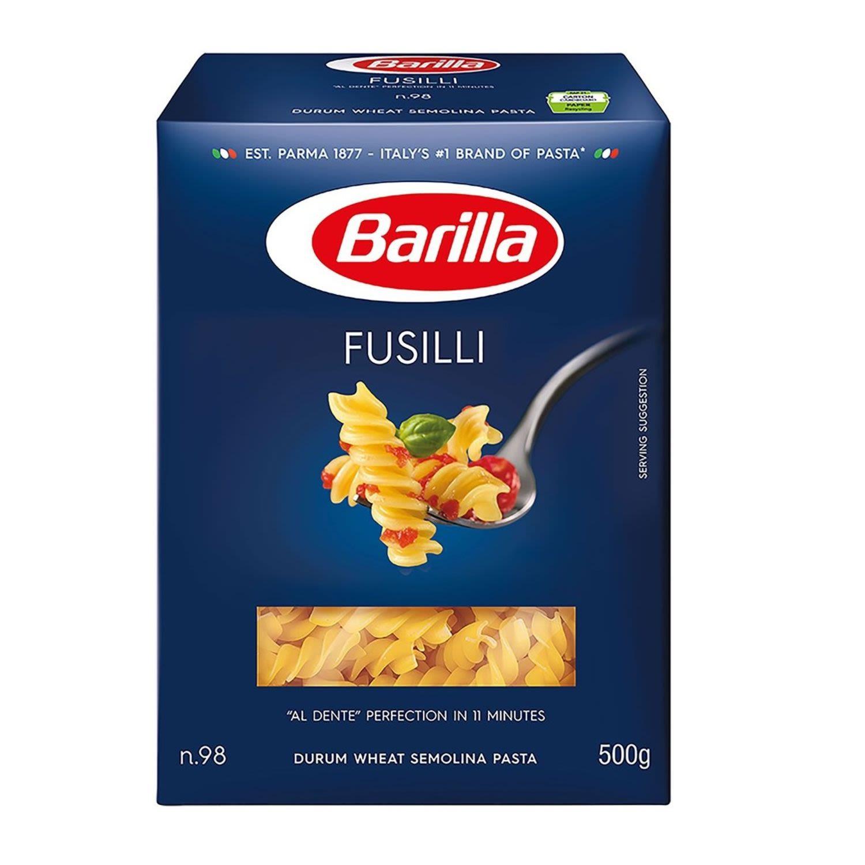 Barilla Fusilli Pasta No 98, 500 Gram