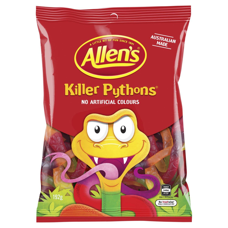 Allen's Killer Pythons, 192 Gram