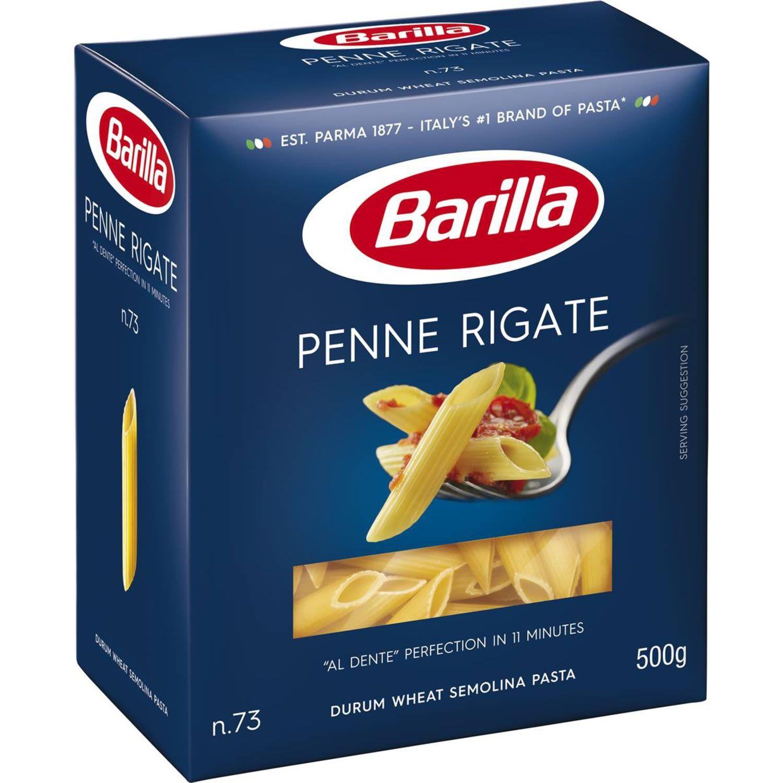 Barilla Penne Rigate Pasta No 73, 500 Gram