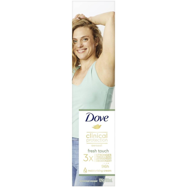 Dove Clinical Antiperspirant Deodorant Fresh Touch, 180 Millilitre