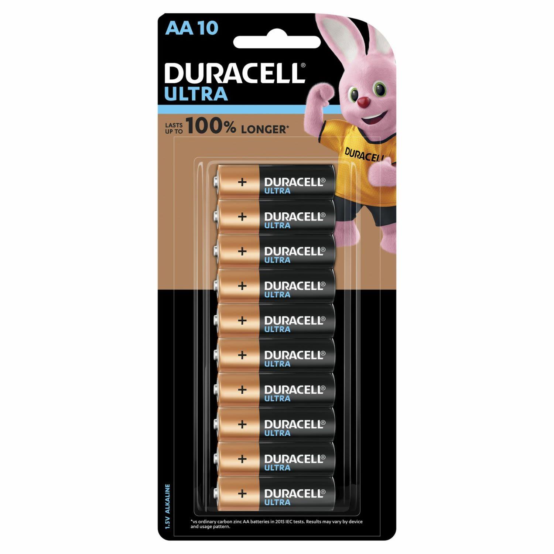 Duracell Battery Ultra AA, 10 Each
