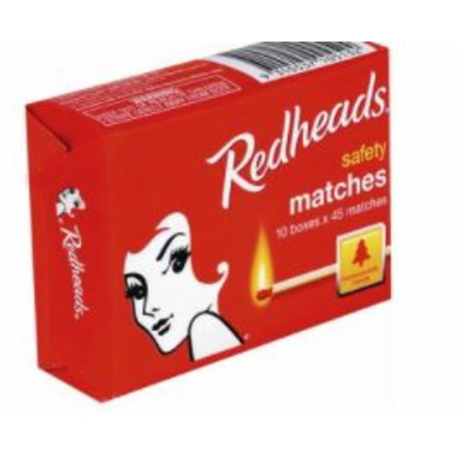 Redheads Matches Safety, 10 Each