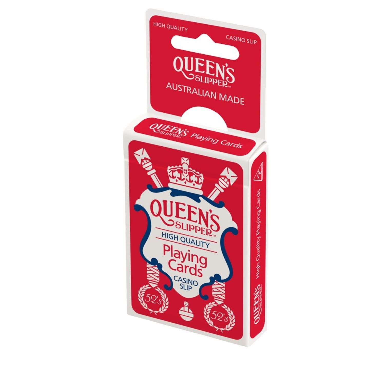 Queen's Slipper Favour Playing Cards, 1 Each