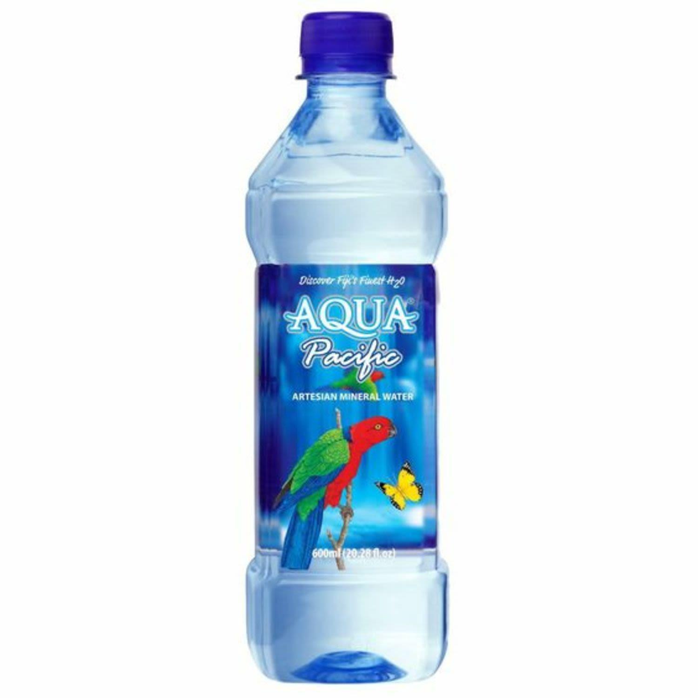 Aqua Pacific Artesian Mineral Water, 600 Millilitre
