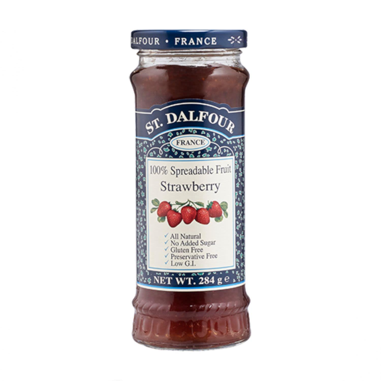 St Dalfour Strawberry Spread, 284 Gram