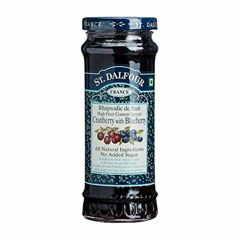 St Dalfour Blueberry Spread, 284 Gram