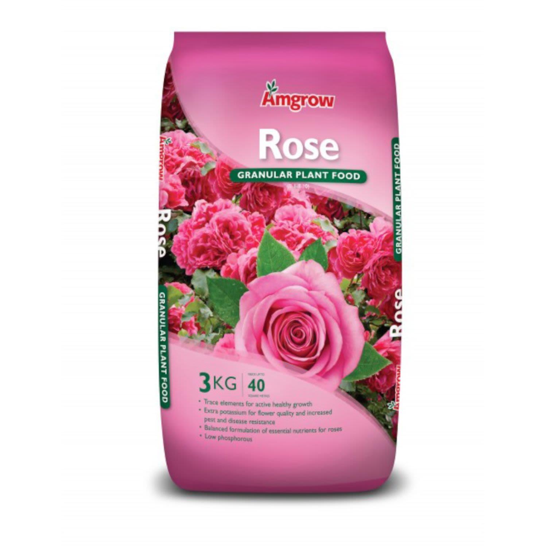 Amgrow All Purpose Fertiliser Rose Food, 3 Kilogram