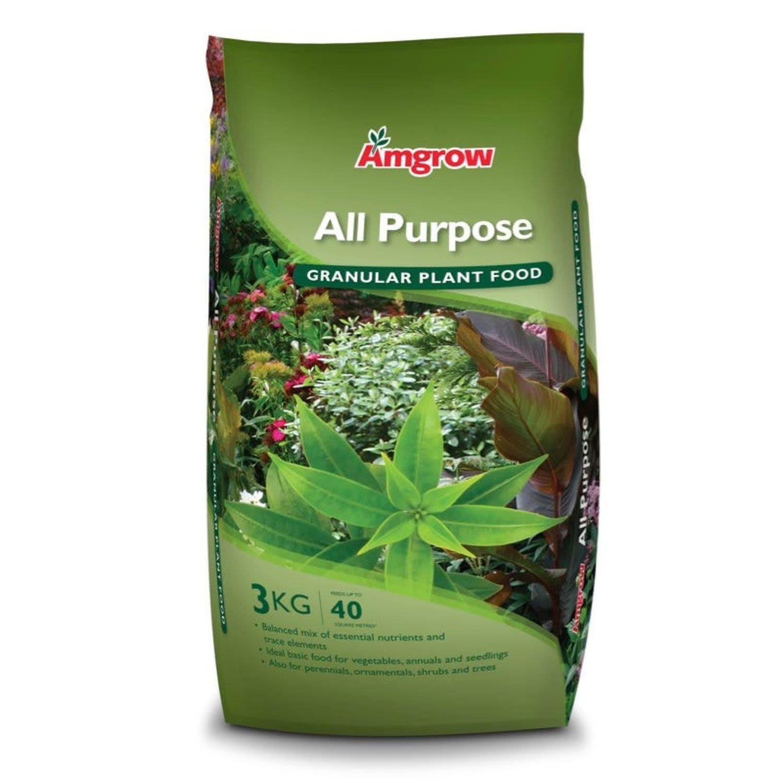 Amgrow All Purpose Fertiliser, 3 Kilogram