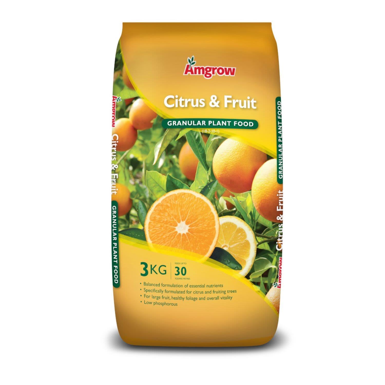 Amgrow All Purpose Fertiliser Citrus & Fruit, 3 Kilogram