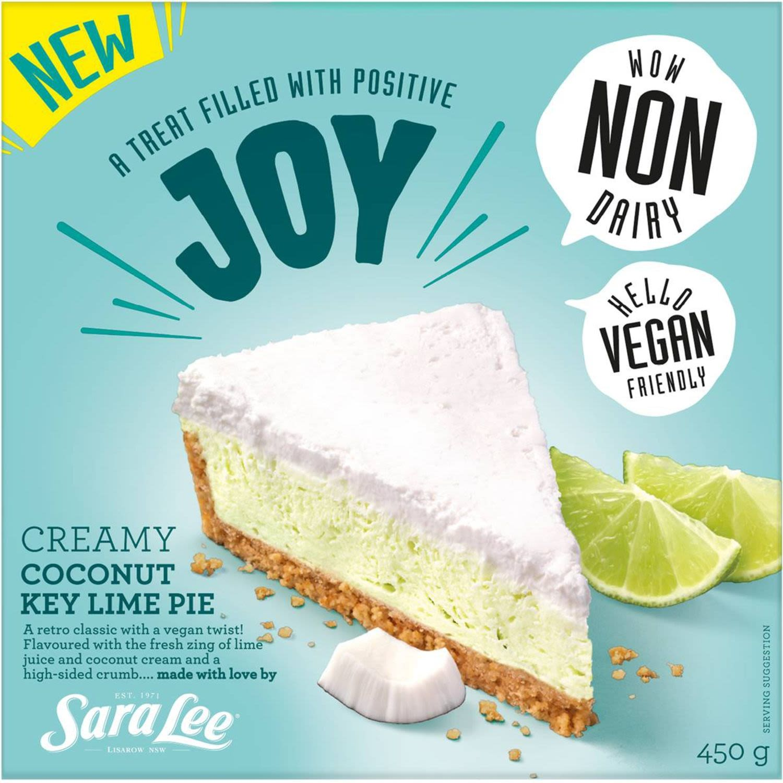 Sara Lee Creamy Coconut Key Lime Pie, 450 Gram