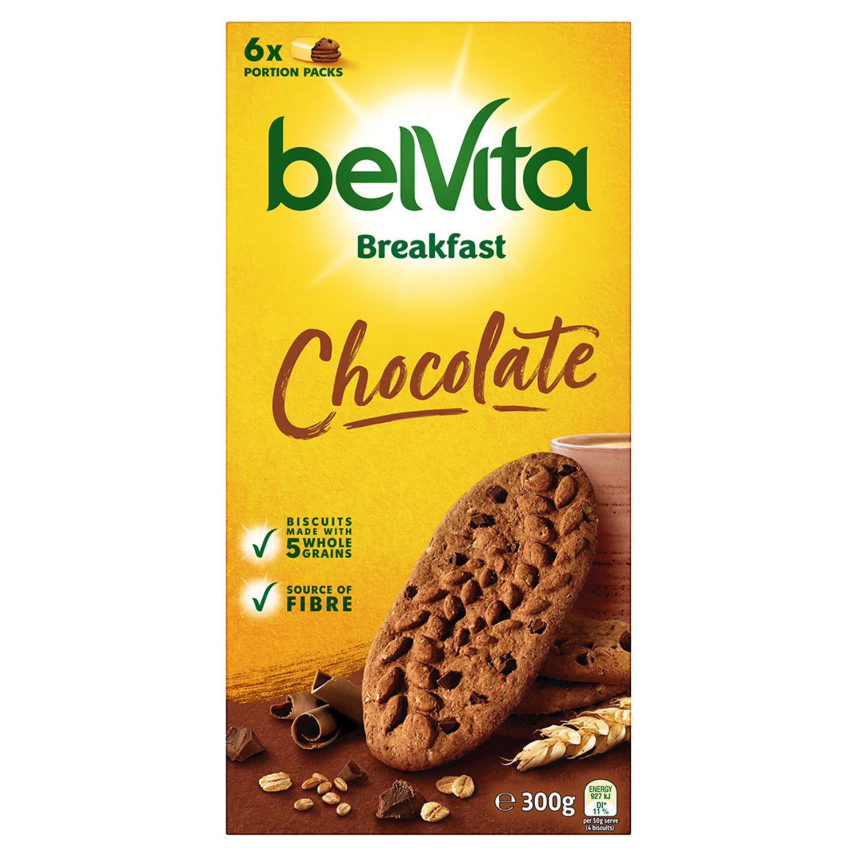 Belvita Chocolate Breakfast Biscuits, 300 Gram
