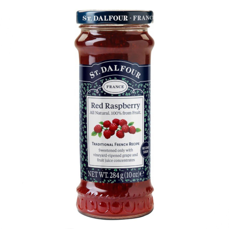 St Dalfour Red Raspberry Spread, 284 Gram