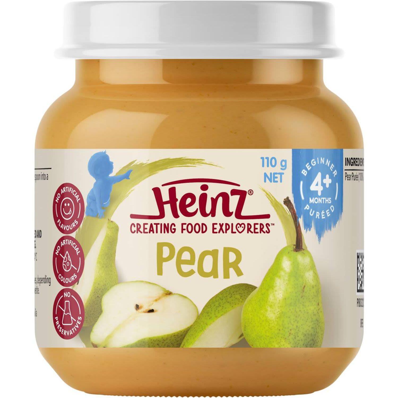 Heinz Fruity Pears, 110 Gram