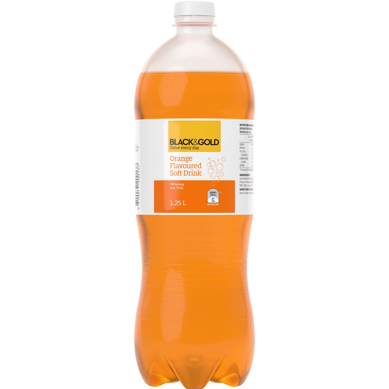 Black & Gold Orange, 1.25 Litre