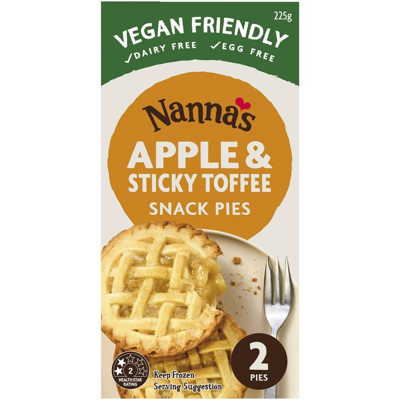 Nanna's Apple & Sticky Toffee Snack Pies, 2 Each