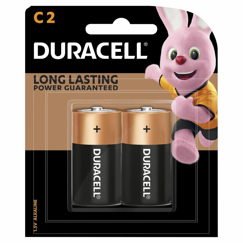 Duracell Coppertop Batteries C, 1 Each