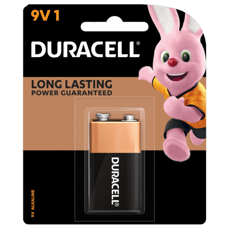 Duracell Coppertop Battery 9V, 1 Each