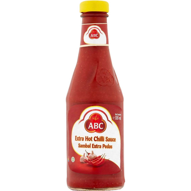ABC Extra Hot Chilli Sauce, 335 Millilitre