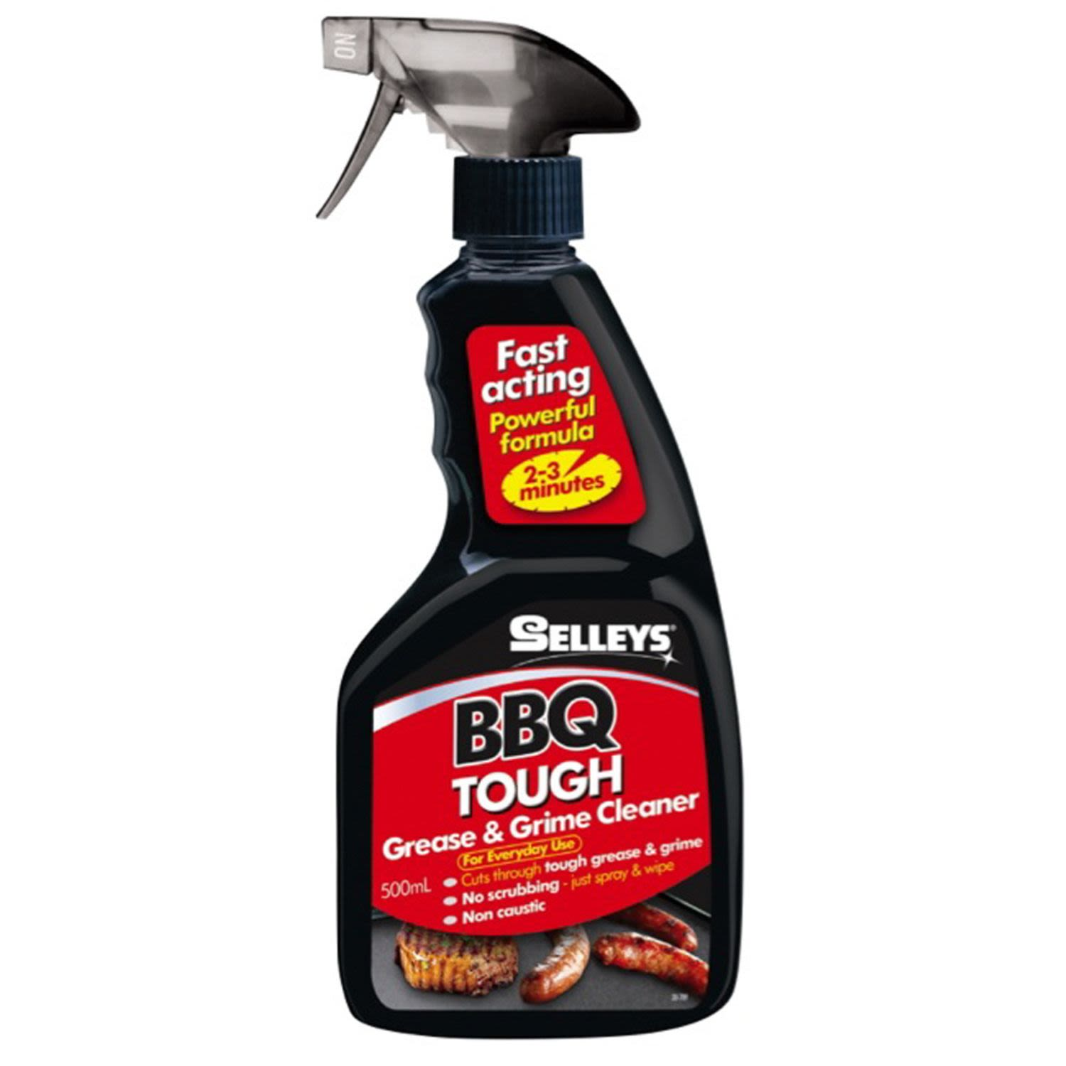 Selleys Grease & Grime BBQ Accessory Cleaner, 500 Millilitre