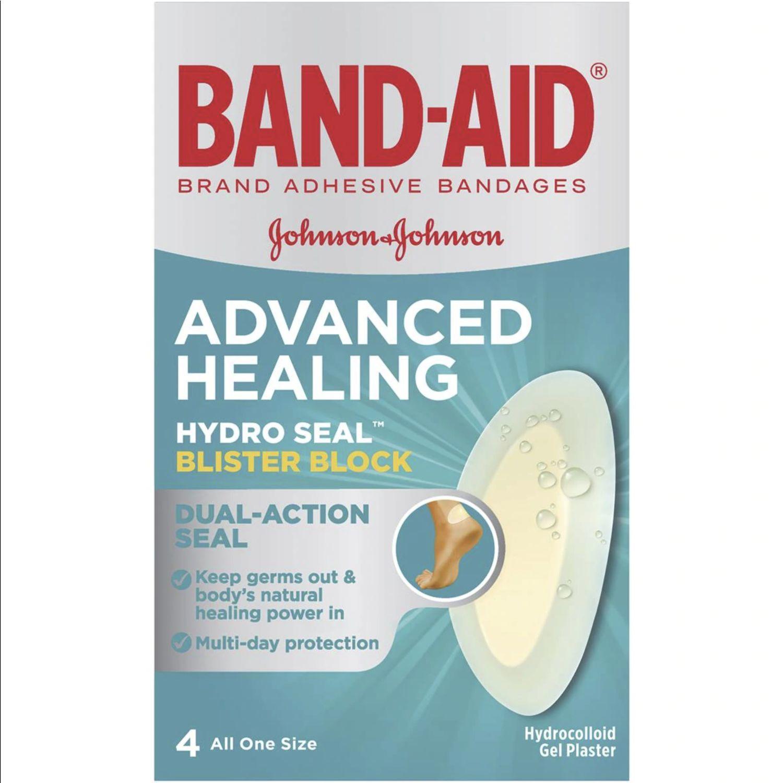 Band-aid Advanced Healing Hydro Seal Blister Block, 4 Each