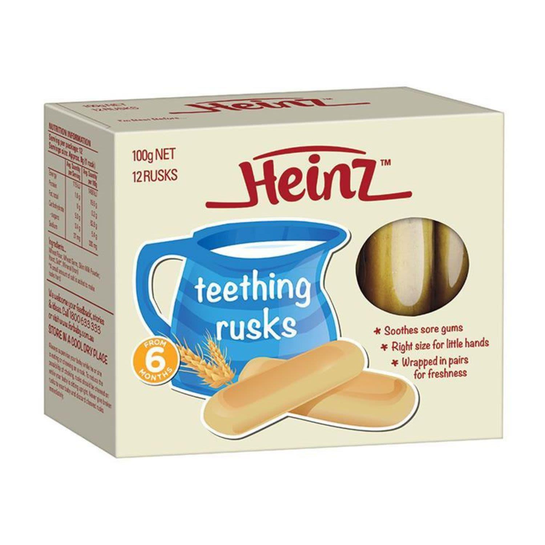 Heinz Teething Rusks, 100 Gram