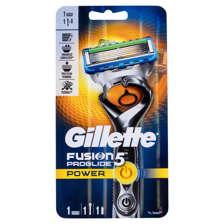 Gillette Fusion ProGlide Power Flexball Shaving Razor Includes 1 Battery, 1 Each