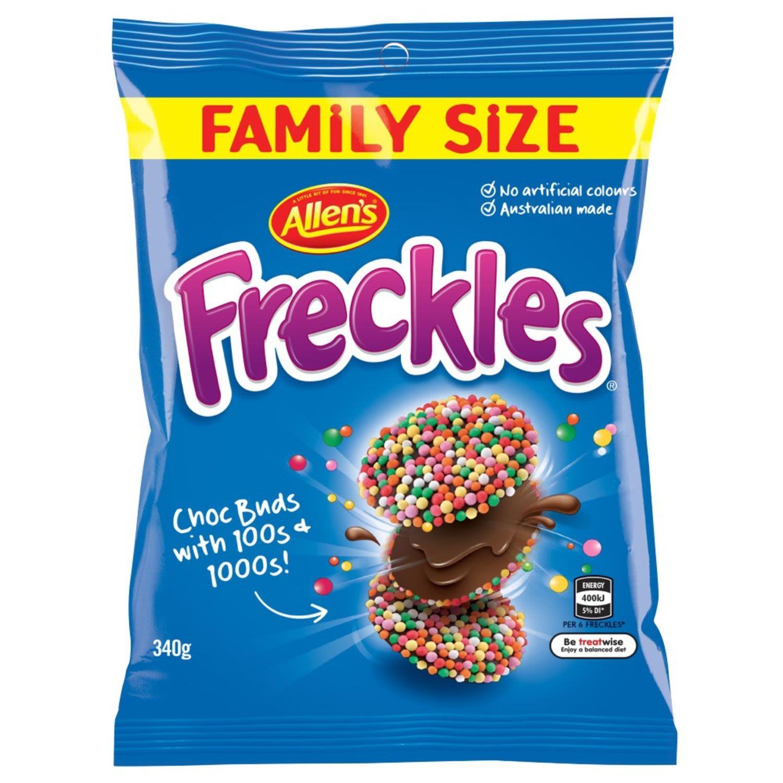 Allen's Freckles Family Size, 340 Gram