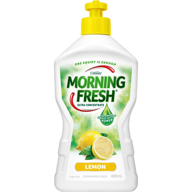 Morning Fresh Dishwashing Liquid Lemon Fresh, 400 Millilitre