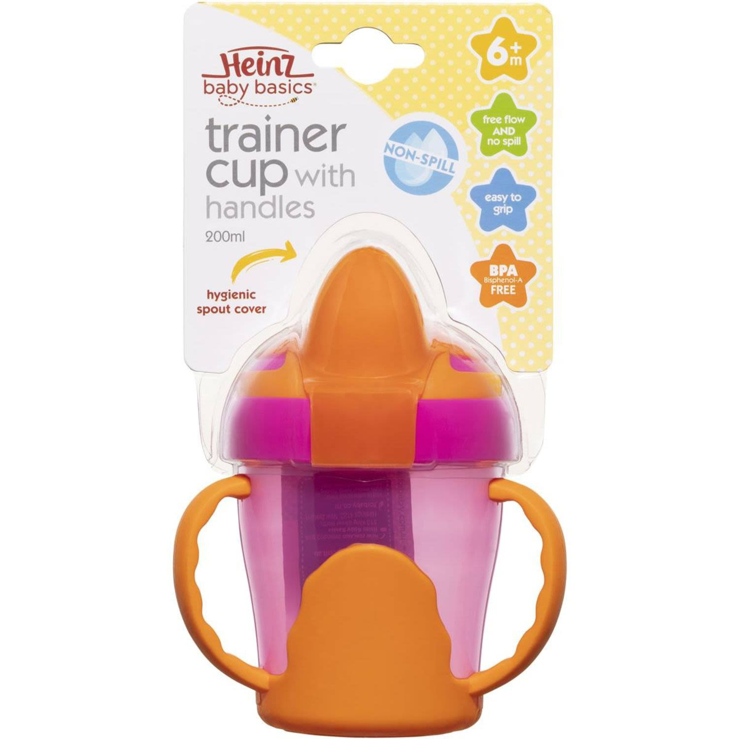 Heinz Cups Trainer With Handles, 1 Each