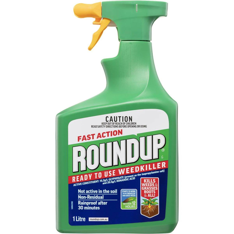Roundup Garden Weed Killer Fast Action, 1 Litre