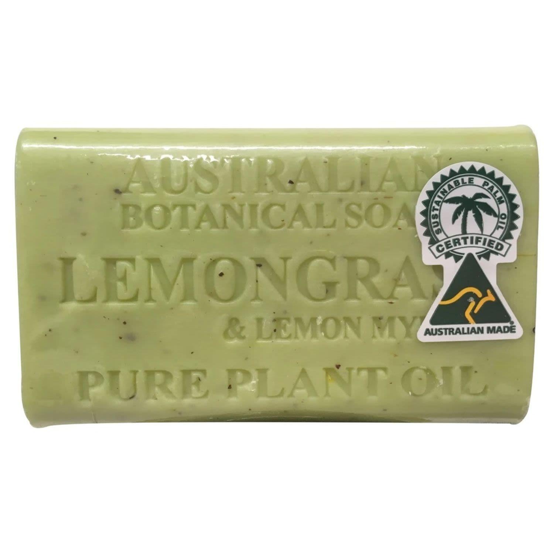 Australian Botanical Soap Lemongrass, 200 Gram