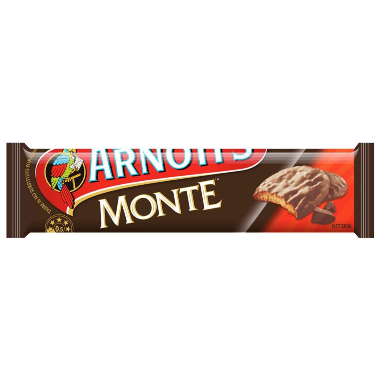 Arnott's Chocolate Monte, 200 Gram