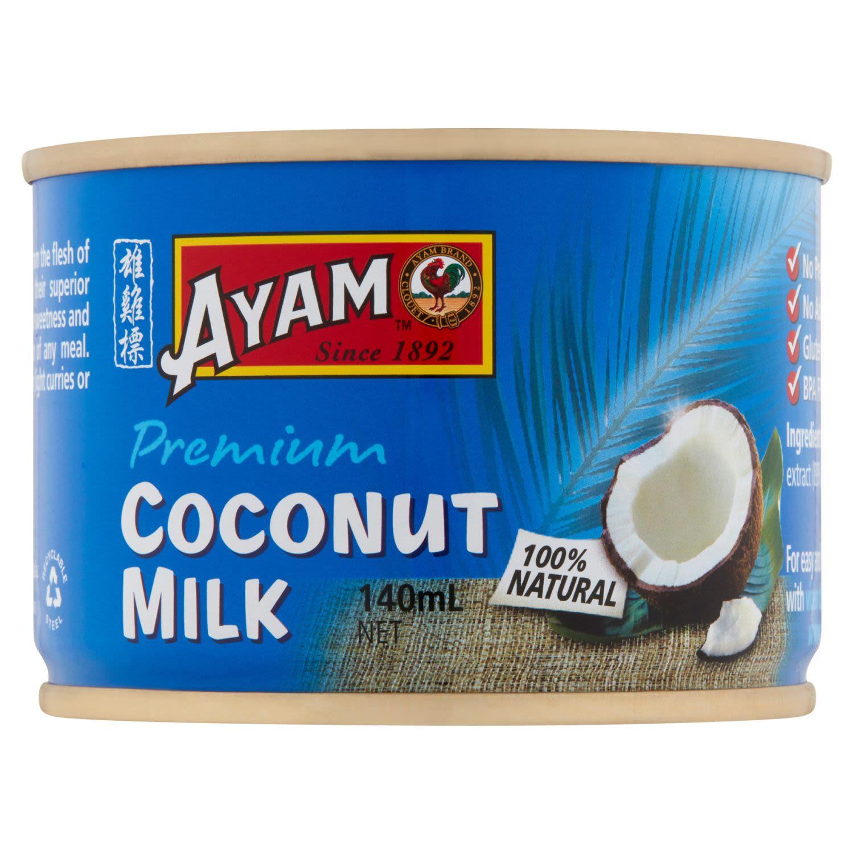 Ayam Coconut Milk, 140 Millilitre