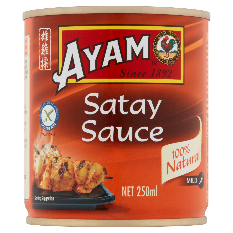Ayam Satay Sauce, 250 Gram