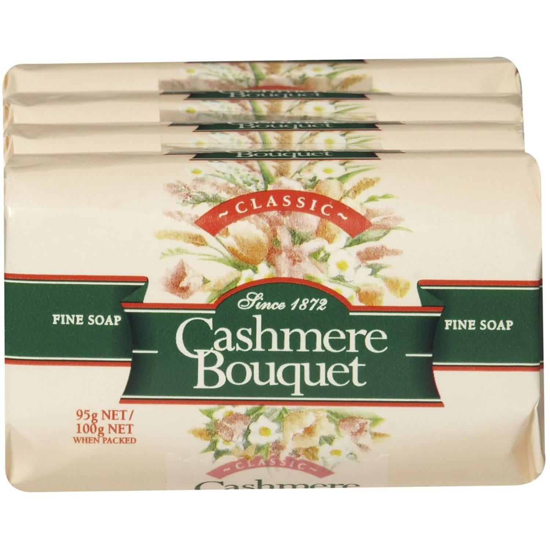 Cashmere Bouquet Soap Bar Classic, 4 Each
